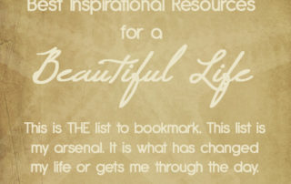 Best Inspirational Resources for a Beautiful Life