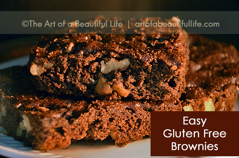 Easy Gluten Free Brownie Recipe