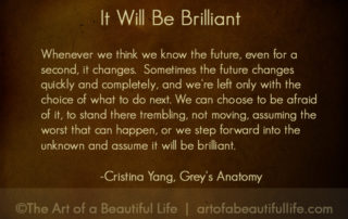 Cristina Yang Quote - Grey's Anatomy Farewell to Cristina