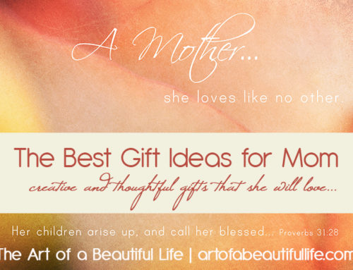 Gifts for Mom: Mother's Day, Birthday, Christmas Ideas…That She Will Love. Love.