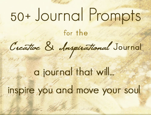 Journal Prompts for an Inspirational Journal