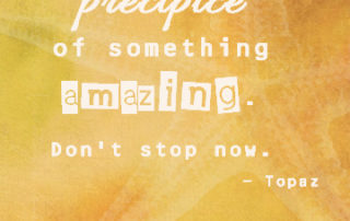 Something Amazing Inspirational Print (free)