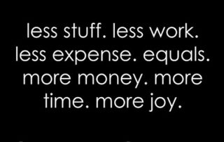Less Is More - Take the 30 Day Declutter Challenge   artofabeautifullife.com