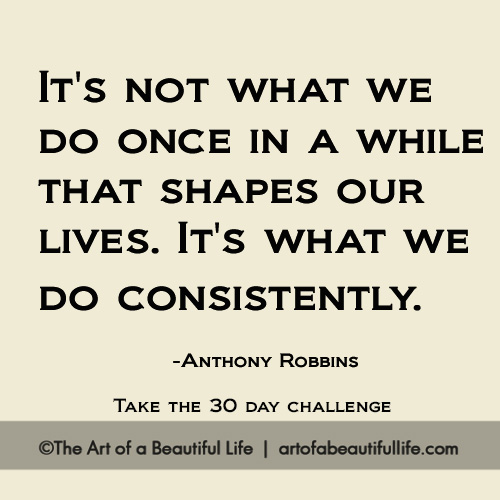 Change Your Thoughts, Change Your Life 30 Day Challenge | Read more... artofabeautifullife.com