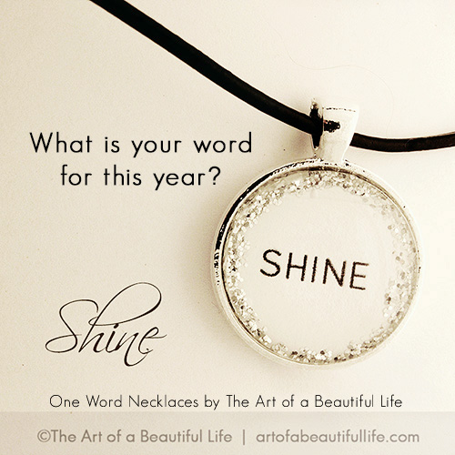 One Word Necklace - Inspirational Jewelry by artofabeautifullfie.com