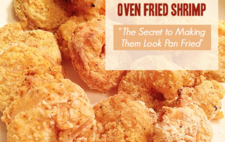 Oven Fried Shrimp - Quick and Easy by artofabeautifullife.com