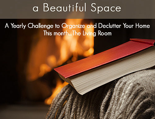 52 Things: A Simple Way to Create a Beautiful Space – Living Room Declutter Challenge (June)