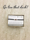 inspirational bracelet, inspirational jewelry - go live that dash