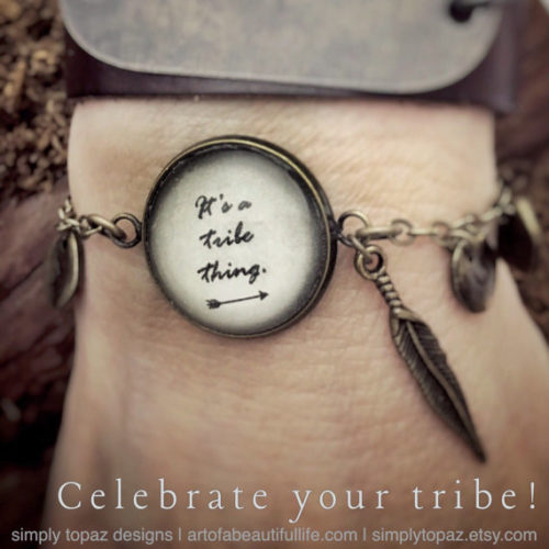 Friendship Bracelet Set | It's a Tribe Thing Personalized Jewelry