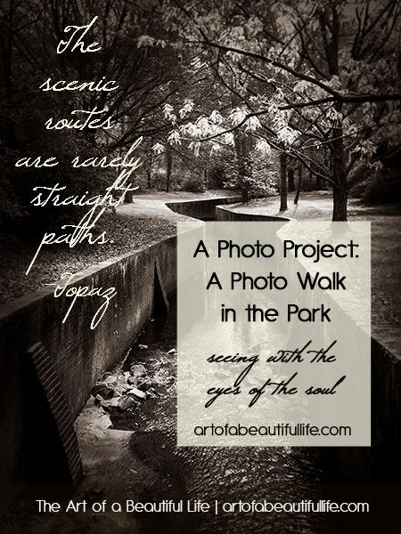 Photo Walk Project - Seeing Creatively | artofabeautifullife.com