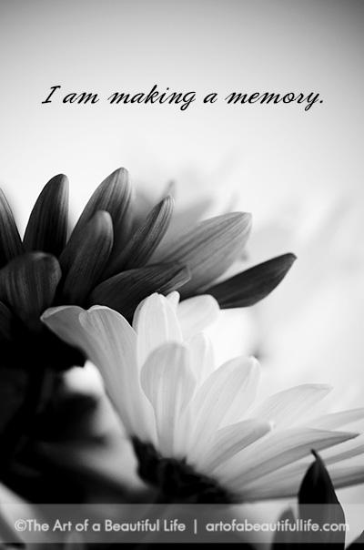 12 Ways to Make Beautiful Memories | Read more... artofabeautifullife.com