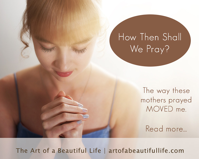 How to Pray by artofabeautifullife.com