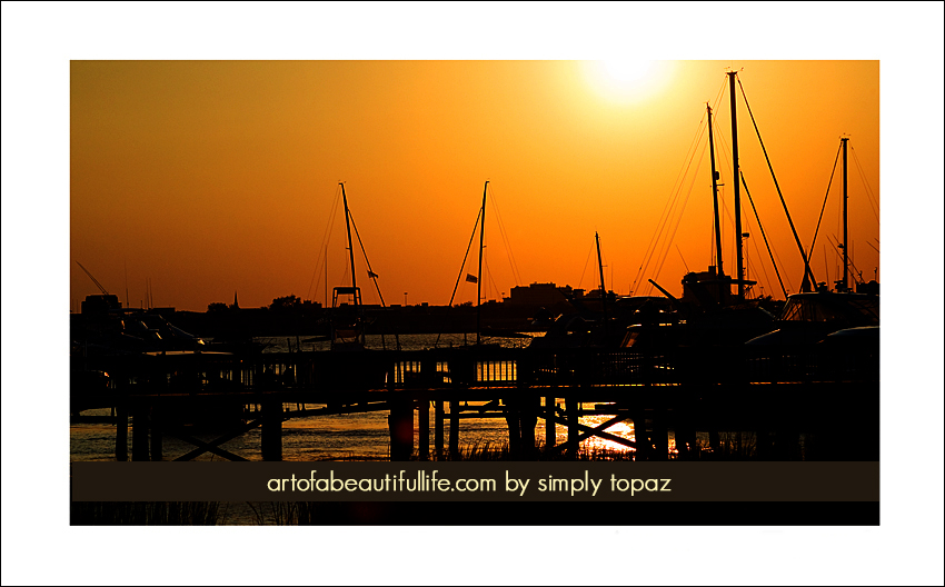 charleston-prints-charleston-harbor-marina-sunset